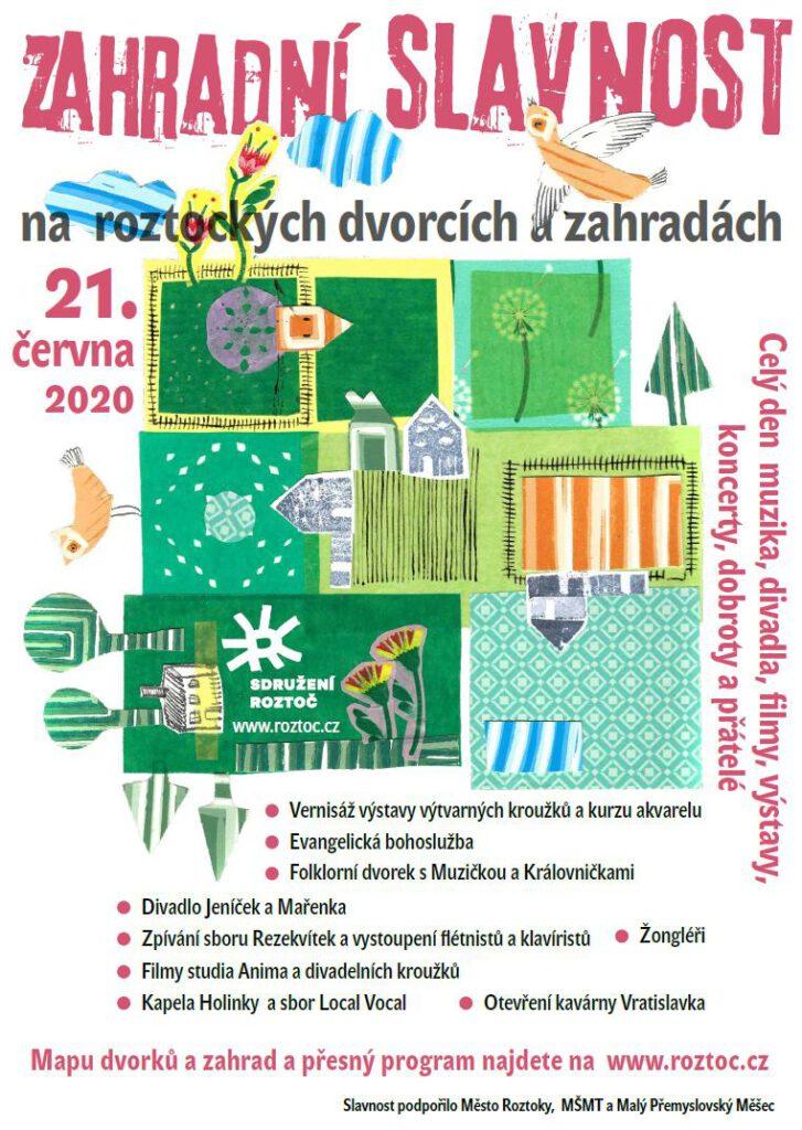 Zahradní slavnost 2020
