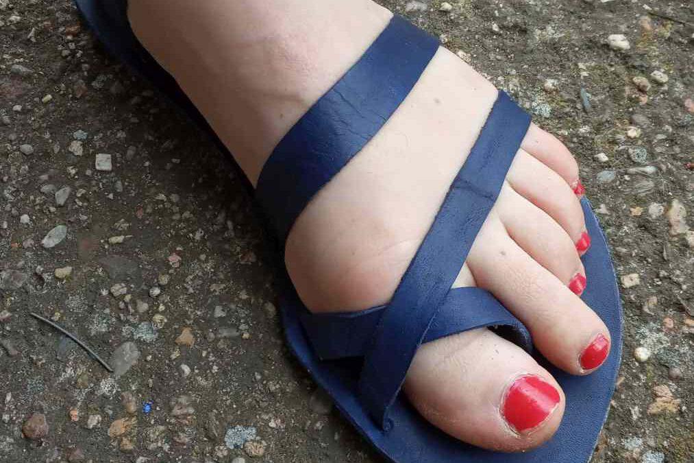 Vytvořené sandály