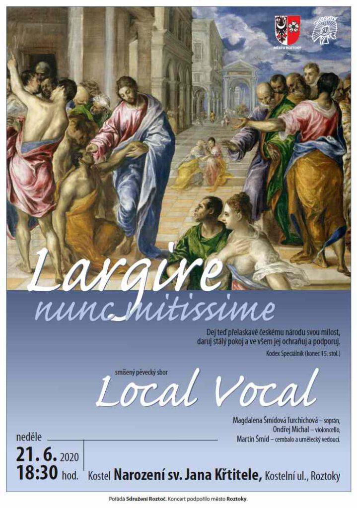 Local Vocal plakát